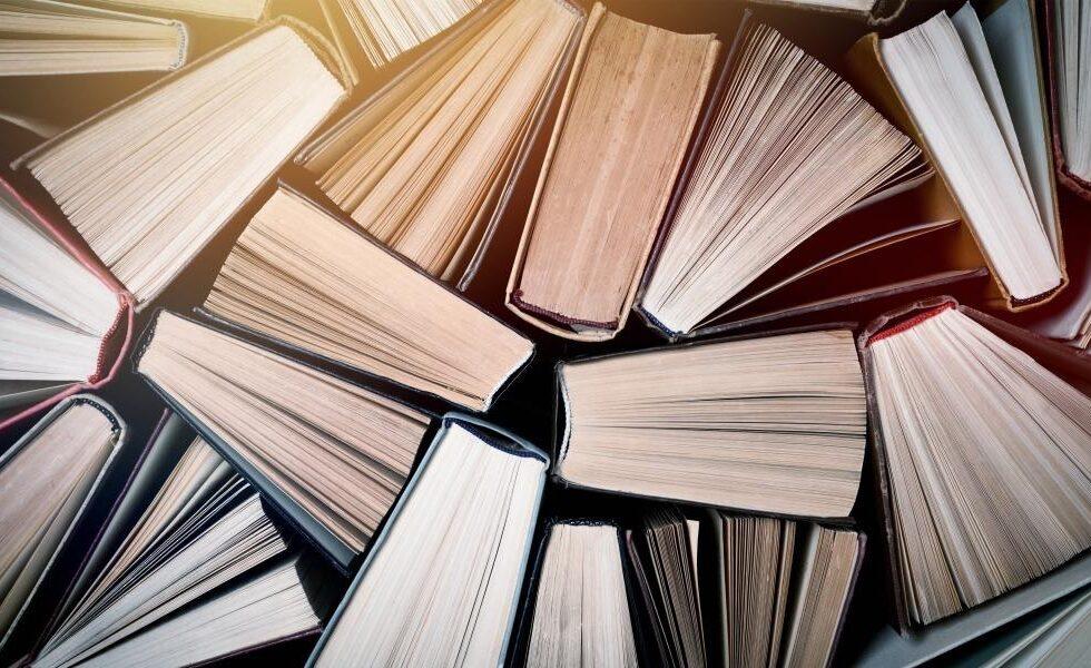 Muitos livros reunidos no Dia Mundial do Livro e do Direito do Autor